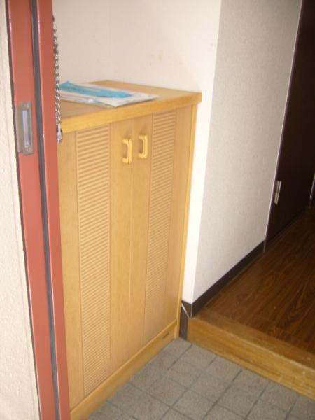 AKK NO1ビル 1B号室の玄関