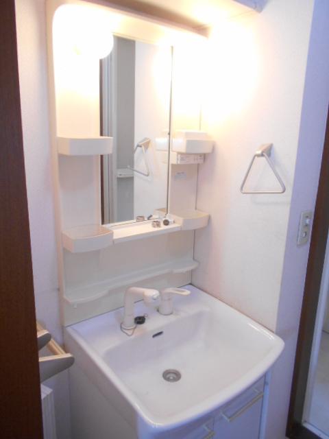 ファミリーメゾン 101号室の洗面所