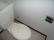 ヒルクレストタウン石川Fのトイレ