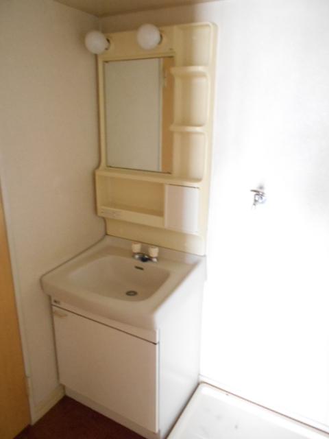グリーンヒルB 203号室の洗面所