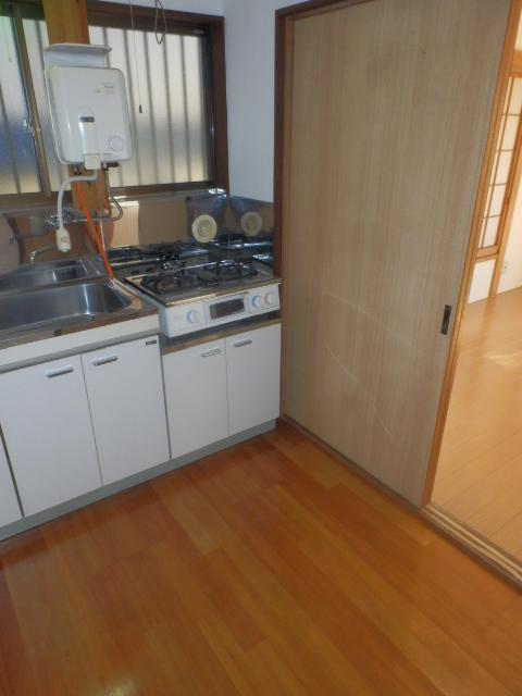 コーポタグチ 201号室のキッチン
