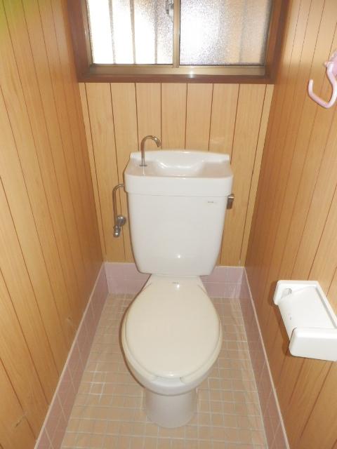コーポタグチ 201号室のトイレ