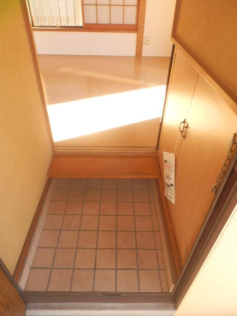 コーポタグチ 201号室の玄関