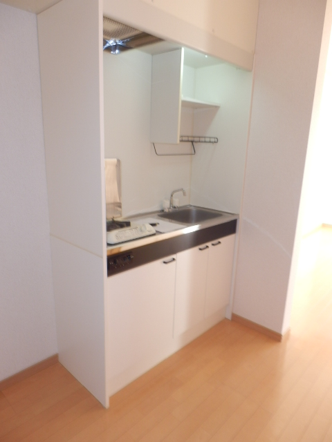 緑園ヒルズ 202号室のキッチン
