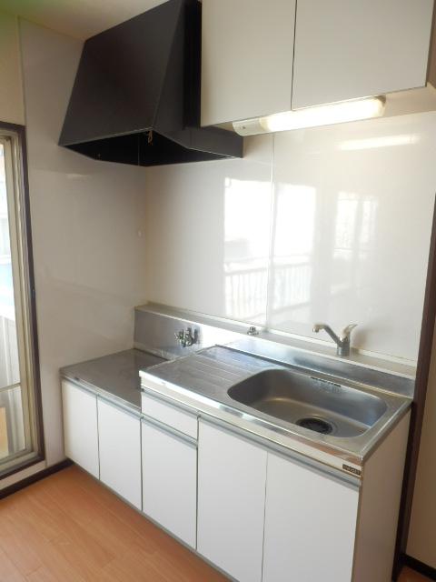 今宿モールサイドⅡ 222号室のキッチン
