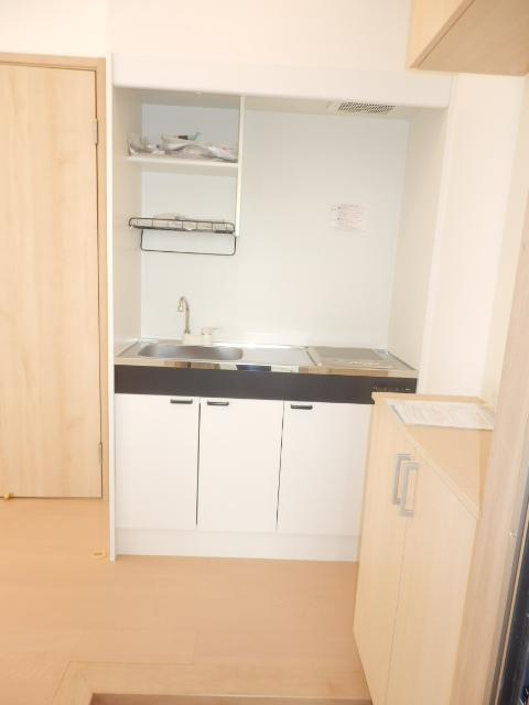 イベリスビラ 102号室のキッチン