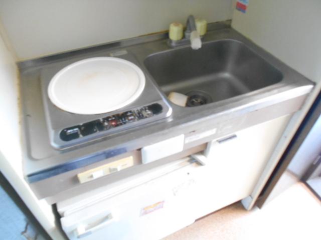 サンライズ桜ヶ丘 102号室のキッチン