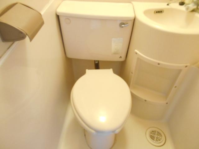 サンライズ桜ヶ丘 102号室のトイレ