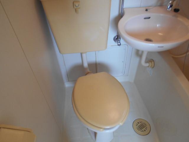 カサブランコ聖蹟Ⅰ 107号室のトイレ