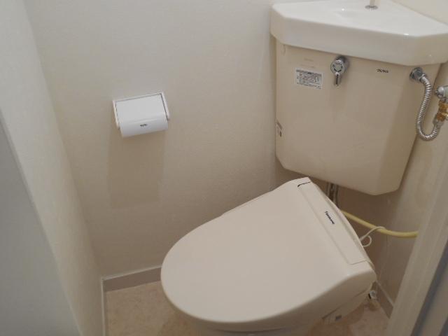 ヴェルドミール聖蹟桜ヶ丘 304号室のトイレ