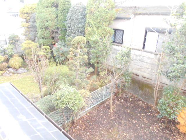 内村邸テラスハウスの景色