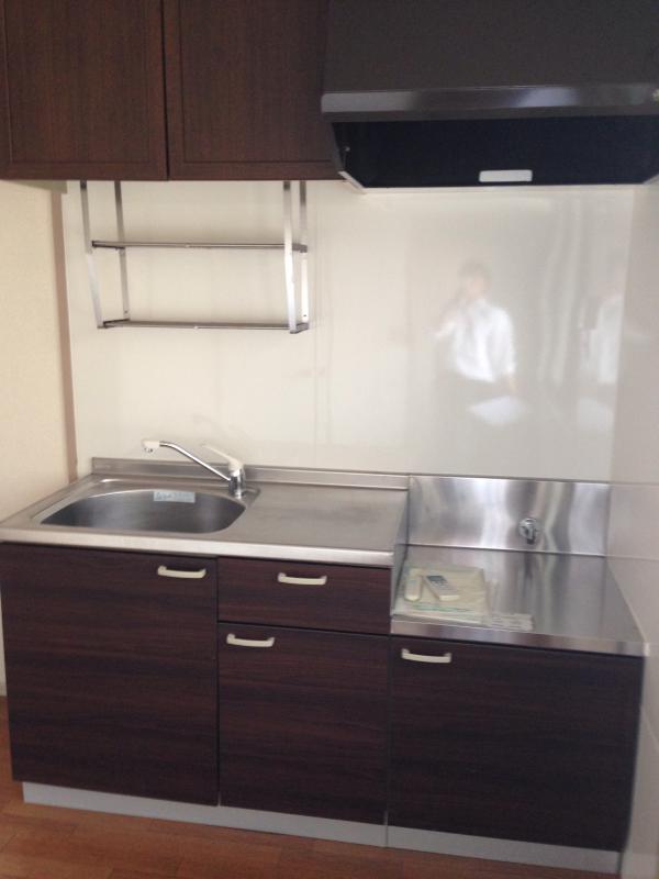 キャッスル 101号室のキッチン