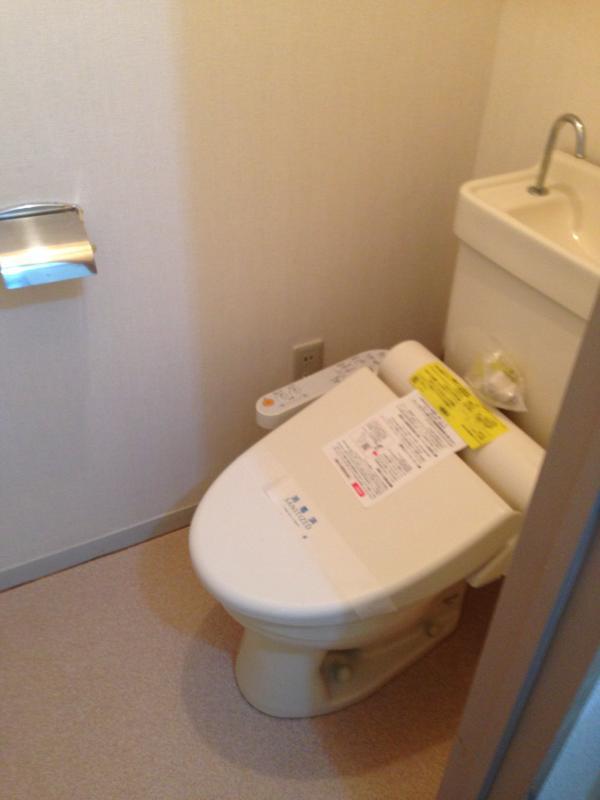キャッスル 101号室のトイレ