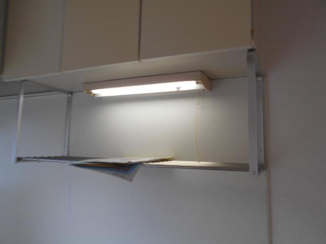 ハイツ677 201号室のキッチン