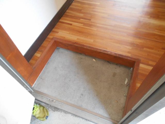 エステートパレス 201号室の玄関