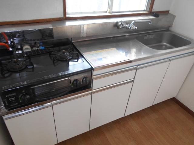 緑町ハイツ 205号室のキッチン