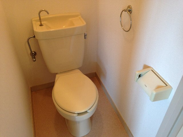 ベルメゾン大橋 402号室のトイレ