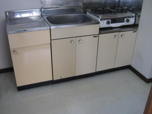 小玉ハイツ 102号室のキッチン