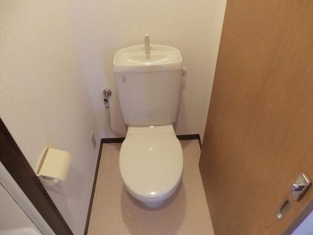 石橋フラッツⅠ 307号室のトイレ
