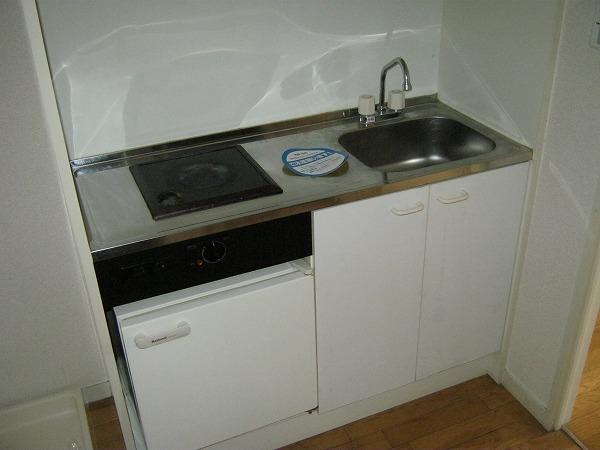 フォルマ・アルディート 403号室のキッチン