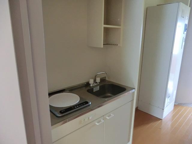 レークハヤⅢ 101号室のキッチン