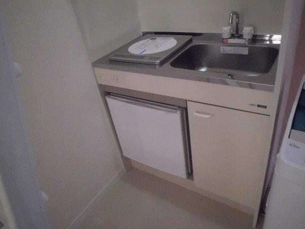 ユナイト田浦マーク・ヘアリー 203号室のキッチン