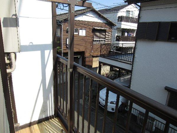 プラトー井田 201号室のバルコニー