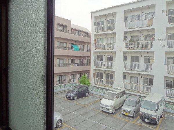 松本ハイム 301号室のバルコニー