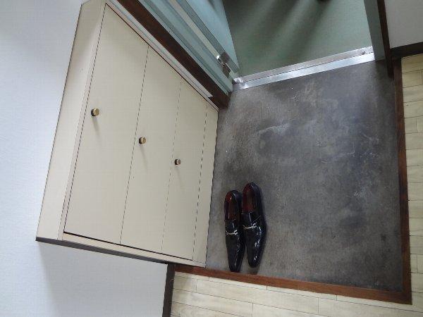 松本ハイム 301号室の玄関