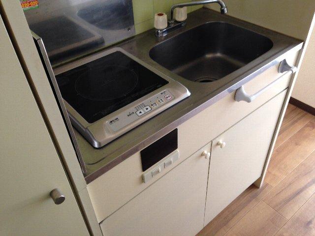 スカイコート元住吉第2 202号室のキッチン