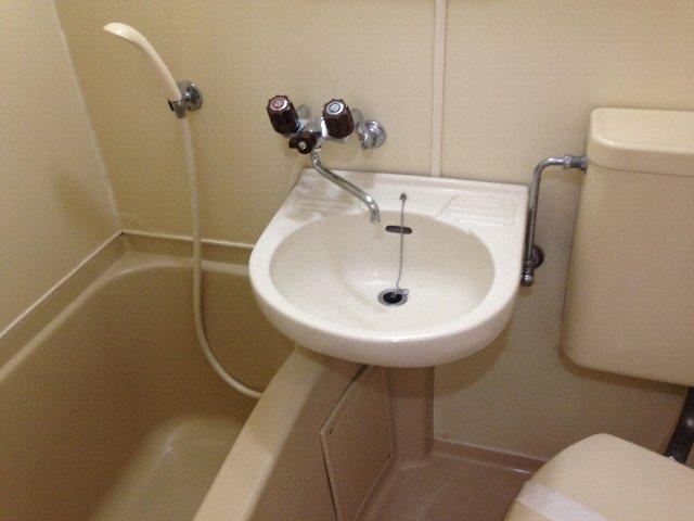 スカイコート元住吉第2 202号室の洗面所