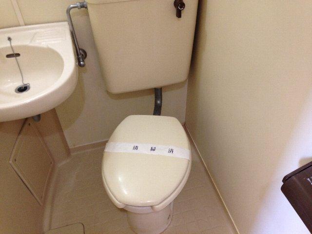 スカイコート元住吉第2 202号室のトイレ