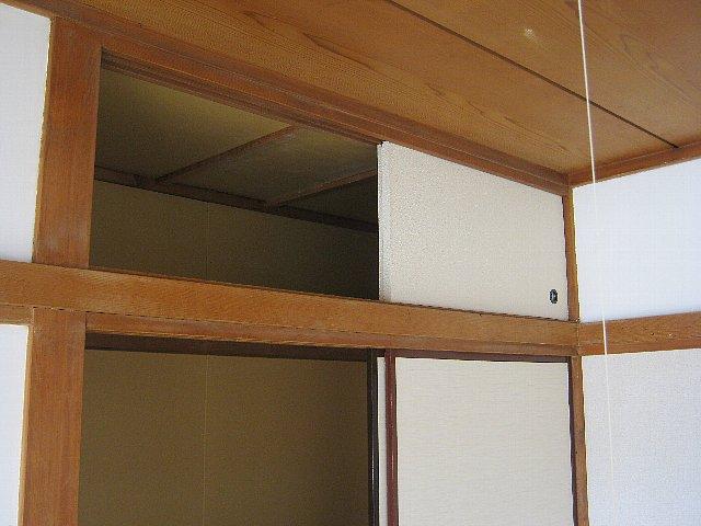 アベアパート 202号室の収納