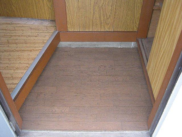 アベアパート 202号室の玄関