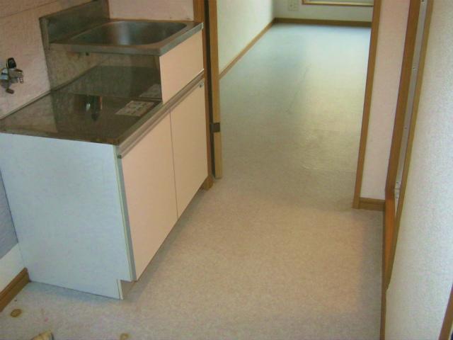 フラワーコーポⅡ 202号室のキッチン