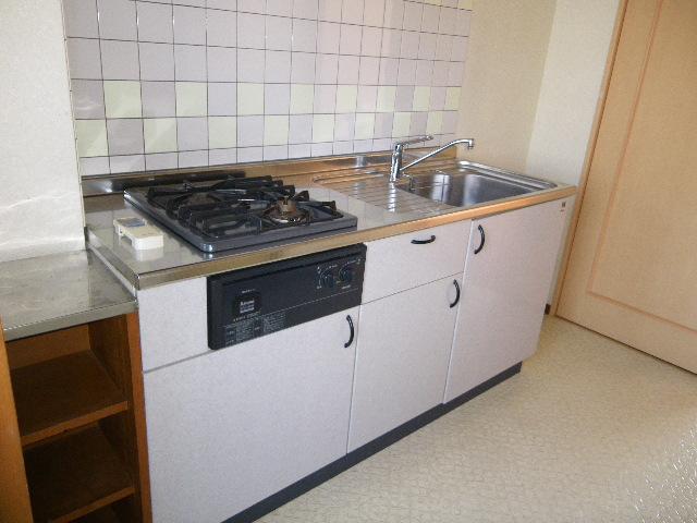 石塚マンション 308号室のキッチン