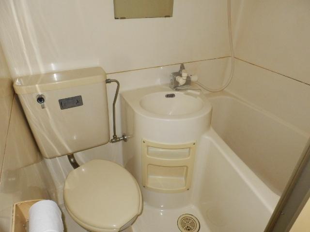 石塚マンション 308号室の洗面所