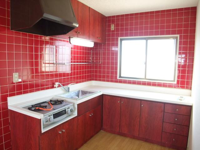 マンションふじ 305号室のキッチン