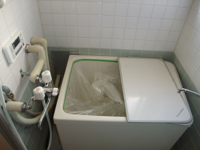 マンションふじ 305号室の風呂