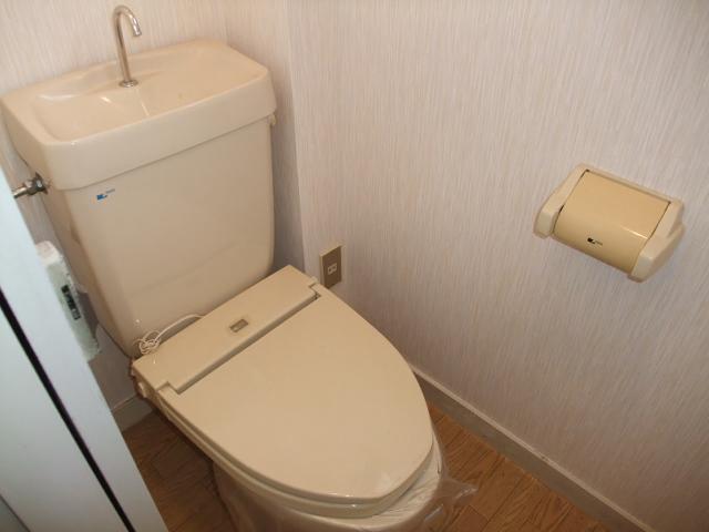 マンションふじ 305号室のトイレ