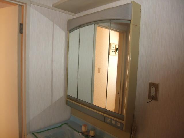 マンションふじ 305号室の洗面所