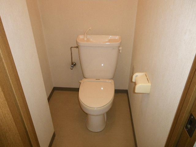 セグンド山星 402号室のトイレ