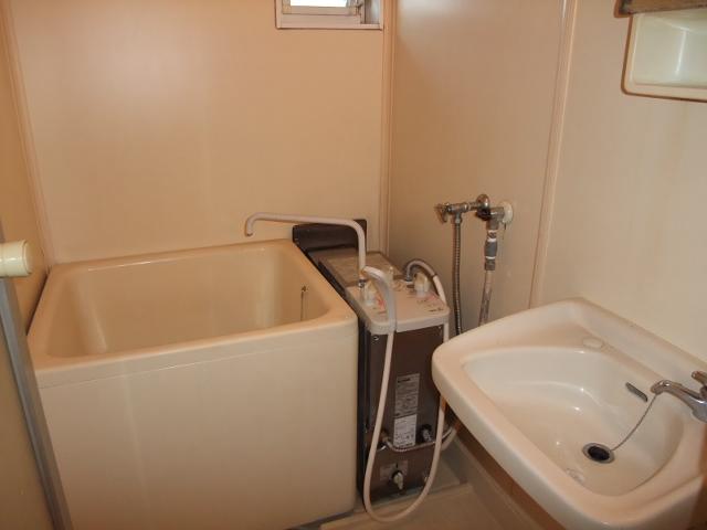 清水コーポ 202号室の風呂