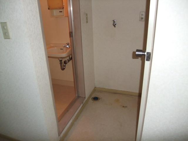 清水コーポ 202号室の洗面所