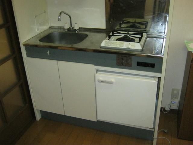 イーストマニ 3-E号室のキッチン