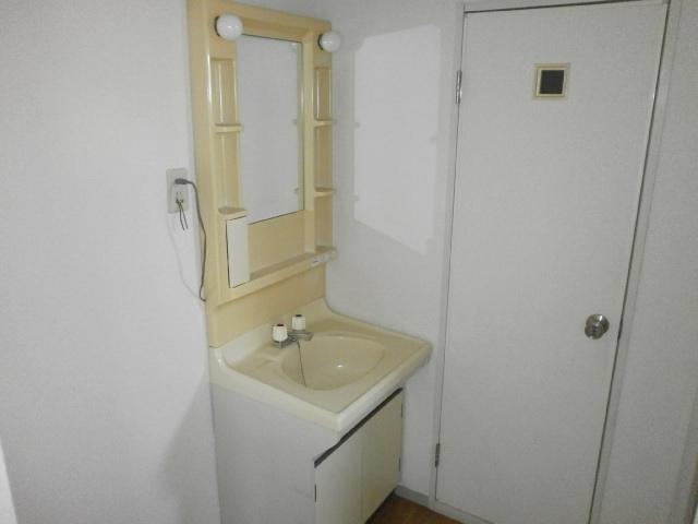 セジュールシマダ 201号室の洗面所