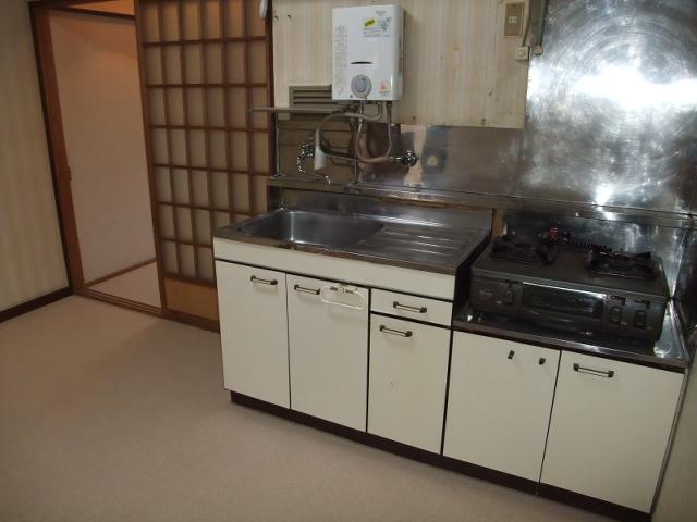 井野駅前レジデンス 203号室のキッチン