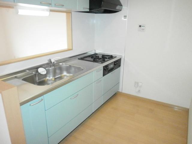 グラン 101号室のキッチン