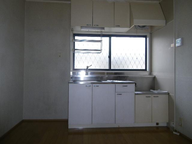 天神台ニューパレスB 102号室のキッチン