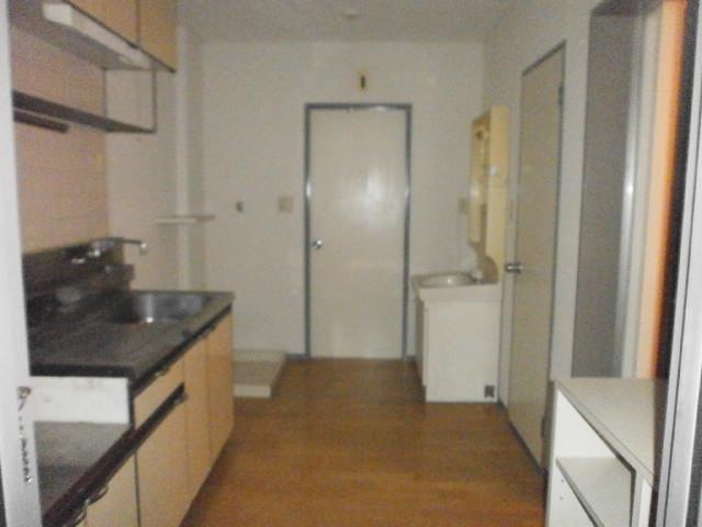 島野ハイツ 206号室のキッチン